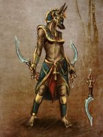 Anubis female by Vinghen