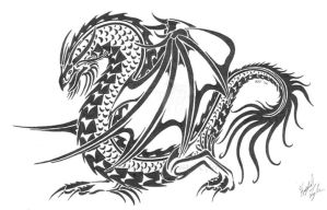 Dragon Design II by R-Eventide