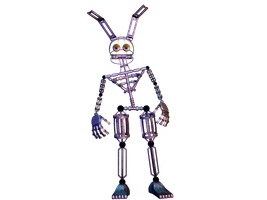 Springlock Endoskeleton by GaboCOart