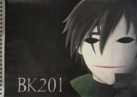 The Black Reaper (Hei) from Darker Than Black by mangaxai