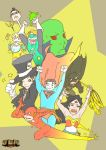 JUSTICE LEAGUE Jr. by 13wishes