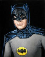 Adam West as Batman by BruceWhite