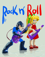 Rock n' Roll Baby by kajinman