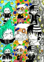 Soul Eater boys by 3-WhatsShakin-3