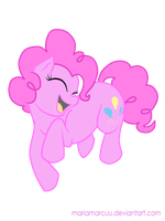 Pinkie Pie by MariaMarcuu