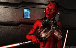 Red Zabrak Sith by Dendory
