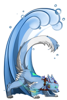 AT:Blue tide by AlmondFeather