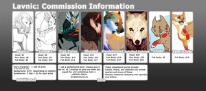 Lavnic: Commission Info by Coalbones