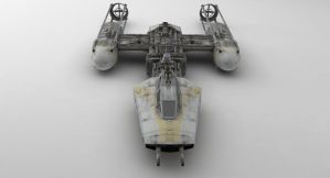 BTL-A4 Y-wing Starfighter by Brandx0