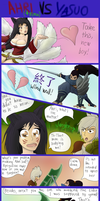 Yasuo vs Ahri (+Riven) by Acemoore