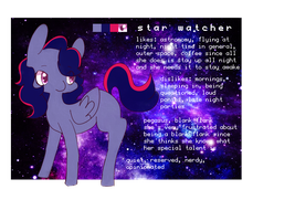 Star Watcher Ref 2014 by 3D-BITES