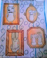 5/712 2015 Drawing Challenge: A Peanut Gallery by Kristina-Henderson