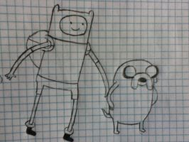 Finn and Jake by ProsperingMinds