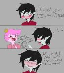 gumball and marshall lee by CheshireCatxAlice