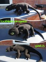 Toothless Progress 3 by silvergirl919