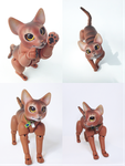 Jacob, Abyssinian Cat Ball Jointed Doll! 2 by vonBorowsky