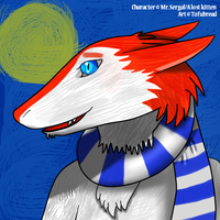 An icon for a sergal by xtofubreadx
