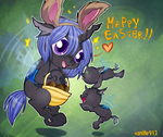 Easter changeling by vanille913