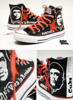 Che Guevara Chucks by Bobsmade