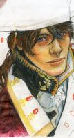 Trinity Blood. Portrait of a Friend by Lyumos