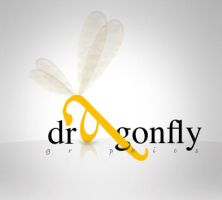 dragonfly graphics logo by eEl886