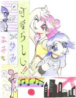 Hi Hi Puffy Ami Yumi by LuckyButterfly-13