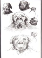 Dogmen designs by MikeErty