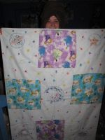 baby blanket number one by Fallonkyra