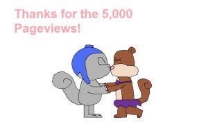 Thanks for the 5,000 Pageviews by hmcvirgo92