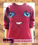Cat sweatshirt by Haszynka