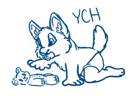 YCH - Baby Fur AUCTION .:CLOSED:. by CassMutt