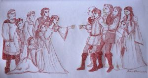 Romeo and Juliet by DaughterGothel