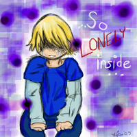 So lonely inside by Alchemist-Hoshi