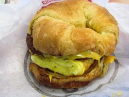Sausage, Egg and Cheese CROISSAN'WICH by BigMac1212