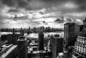 Brooklyn Skies by 2-00am-photography
