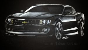 The dark side of the Camaro by camaro1