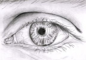 Eye - Realism by Alias-Aether