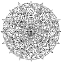 Petals Mandala by WelshPixie