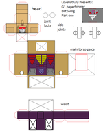 Blitzwing paperformer part one by lovefistfury