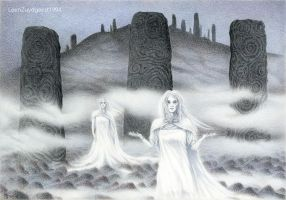 The ghosts of the megaliths by LeenZuydgeest