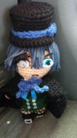 Crochet Ciel Phantomhive 2nd attempt by Maw1227