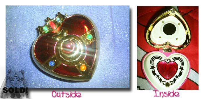 Cosmic Heart Compact by Magical-Mama