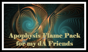 Apophysis Flame Pack of 40 by MothersHeart