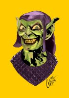 Green Goblin by jorgecopo