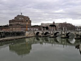 castel sant'angelo_ by titizu