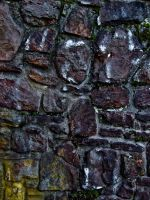 Rock Wall by Baq-Stock