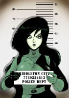 Arrested Shego by Shinkaigyo