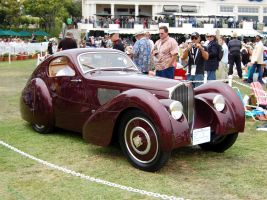 Bugatti 13 of 20 Pebble Beach by Partywave