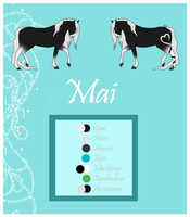 Mai - Reference Sheet by Crystal-Cinders