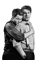 Ianto jones and Captain Jack by shauna-mullen